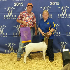 DeSpain Show Goats Winner